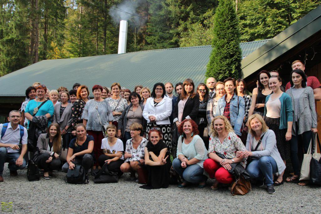 Konferencja bibliotekarzy wWiśle 2018.09.06 zdjęcie grupowe