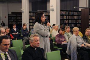 """Spotkanie wwiślańskiej bibliotece zAndrzejem drobikiem """"W dodze doOstojiceva"""""""