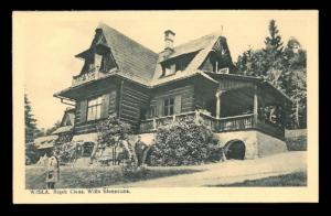 Przykład starej pocztówki zWisły